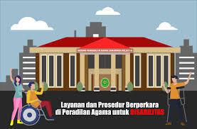 Layanan dan Prosedur Berperkara di Peradilan Agama Untuk Disabilitas